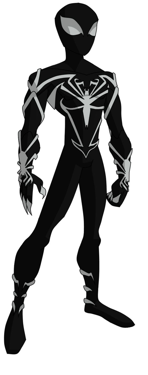 Spectacular Spider-Man Unlimited Black Suit by ValrahMortem on deviantART