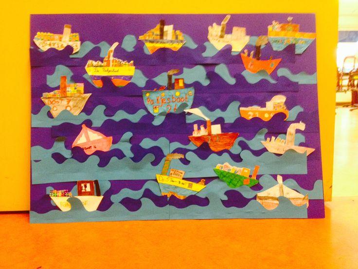 Wil je iets leuks voor Sinterklaas knutselen? Wij maakten de pakjesboot van Sinterklaas.