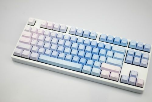 104 KBC Blue PBT Keycaps for MX Cherry Switches Top Printed | eBay