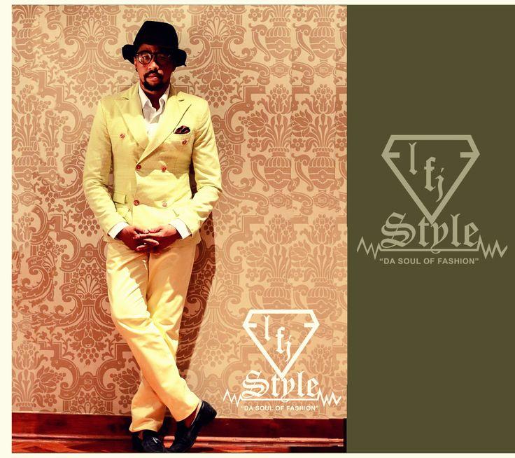Northern Cape fashion designer, For Joko, wearing LFJ Style