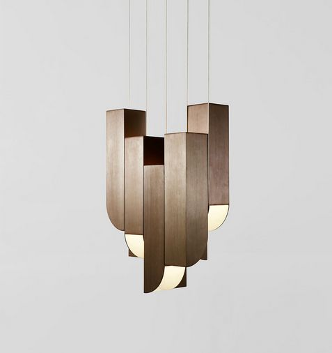 Cora pendant 8 lights hollace cluny