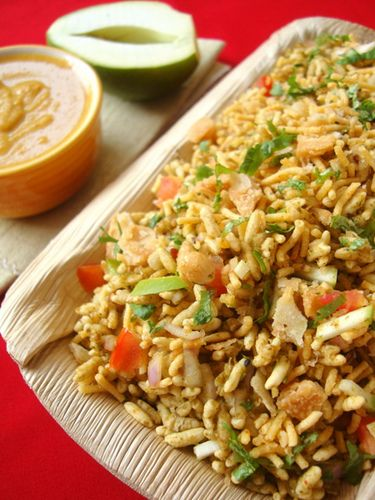 Bhel Puri - Famous Indian Snack #EatHealthy #StayHealthy #FreedomHealthyOil