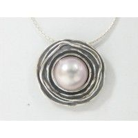 Sterling Silver and Pearl