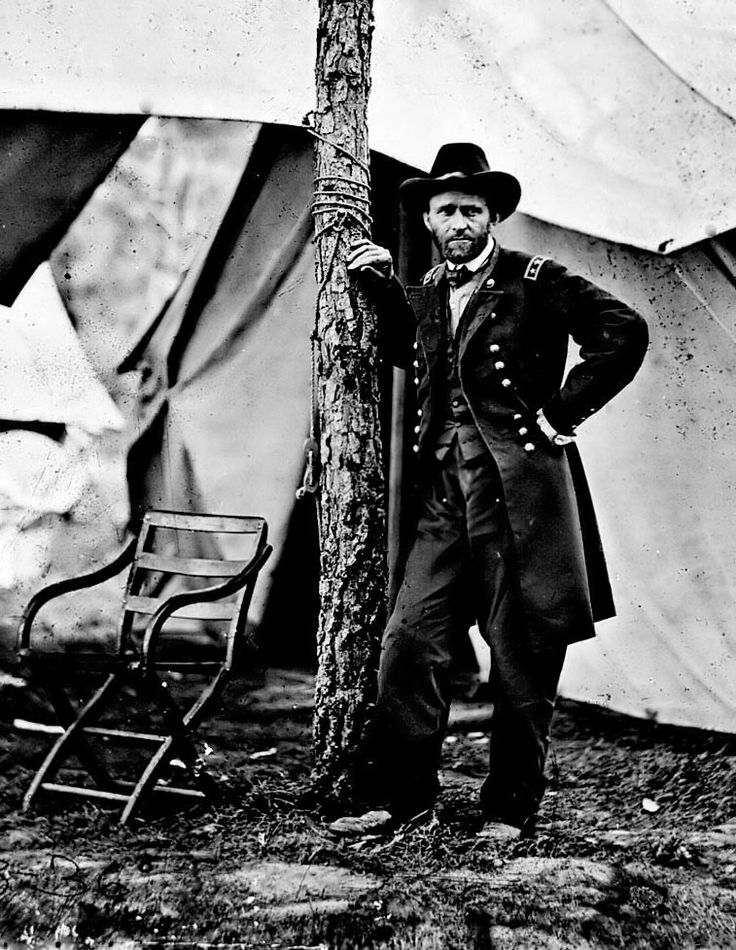 An image of General Ulysses S. Grant during the Civil War