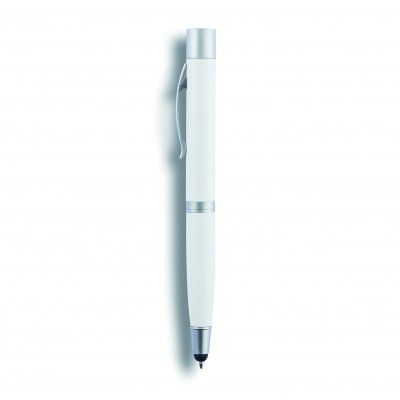 P324.153 : Stylo/batterie 3 en 1 de 650mAh, blanc