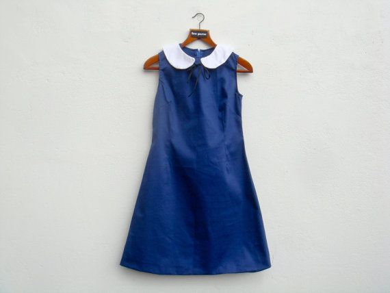 The Out To Sea Dress by foxparse on Etsy, $60.00: Sea Dresses, Etsy Outs, Blue Dresses, Peter Pan Collars, 60 00, Cutest Bridesmaid, Etsy Lists, Awesome Etsy, The Sea