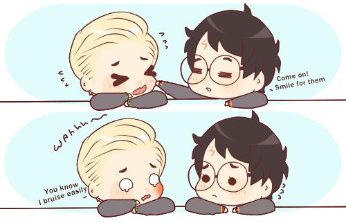 Drarry Chibi: Harry X Draco Trong 2019