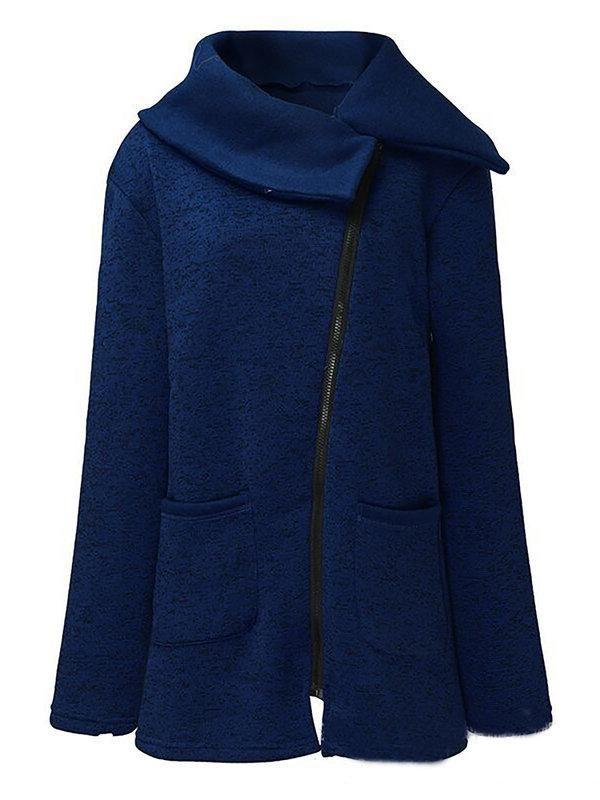 f45155a3b10 Womens Paneled Cotton Plus Size Outerwears – RIKKISHOP