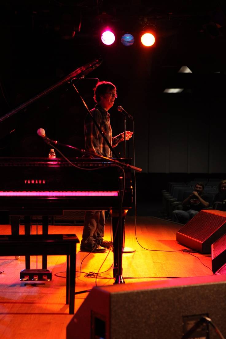 Black t shirt ben folds - Ben Folds Addresses Students In The Vocal Program At Musicians Institute Music Benfolds