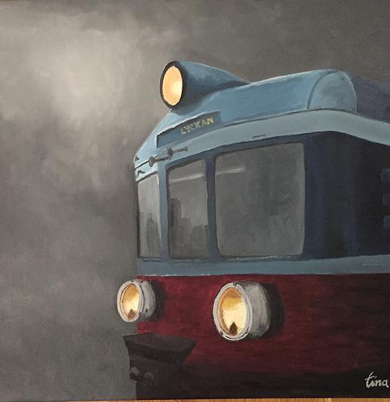 Destination Lyckan, tåg, train, Tina Perborn