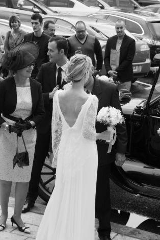 Robe de mariée / Blanc, blanc cassé, écru / 36 (S, T1) FR / Soie ...