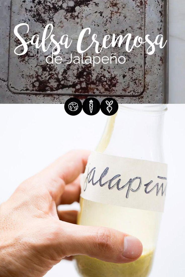 #InspírateEnCasa Con esta receta vas a poder hacer la mejor salsa cremosa de jalapeño que te puedas imaginar. Salsa Mexicana, Mexican Salsa Recipes, Hispanic Heritage Month, Tasty Videos, Dips, The Creator, Tacos, Health, Blog