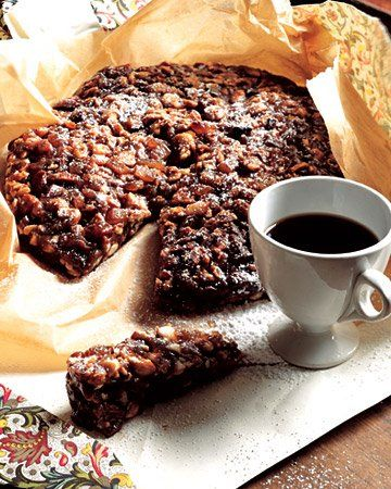 Panforte | A honey-caramel mixture, rather than cake batter, is what ...