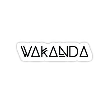 WAKANDA | Sticker