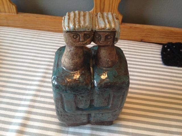 Lars BERGSTEN  sculpture 'couple' very cool