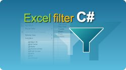 Apply Excel auto-filter for sheet in C# using EasyXLS library for XLSX, XLS, XLSM, XLSB files #Excel #CSharp #EasyXLS