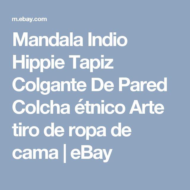 Mandala Indio Hippie Tapiz Colgante De Pared Colcha étnico Arte tiro de ropa de cama    eBay