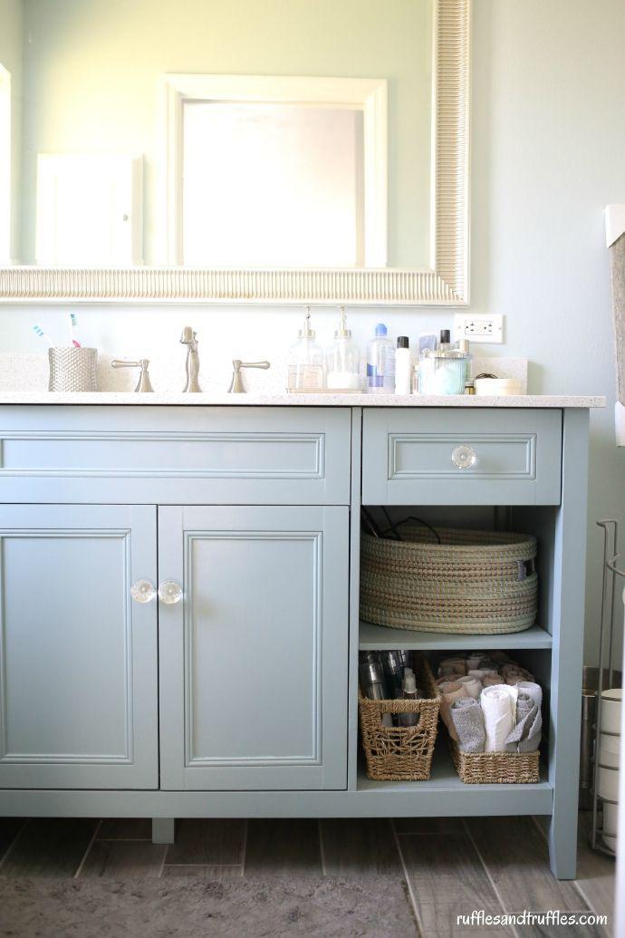 Revamped Bathroom Vanity Diy Project Helpful Homemade Diy