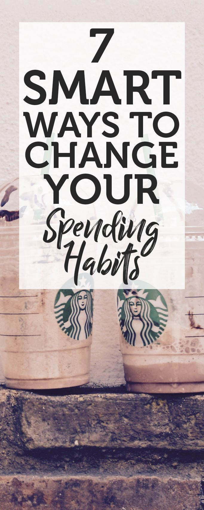 7 Smart Ways To Change Your Spending Habits - Trying to spend less money here and there? Don't know where to cut back without losing your current lifestyle? Then allow me to tell you about how I have changed how I spend my money. #spending #save #money #change