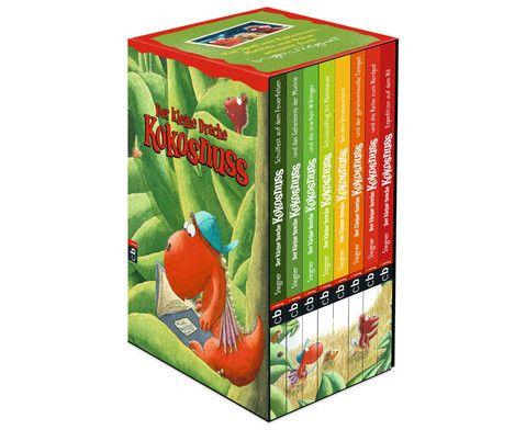 Der kleine #Drache #Kokosnuss - 8 Bände im Geschenkschuber #edumero #lesenlernen