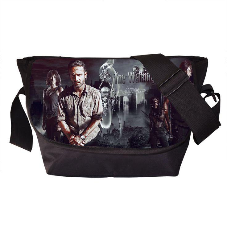 The Walking Dead Messenger Bag The Walker Store    http://thewalkerstore.com/the-walking-dead-messenger-bag/