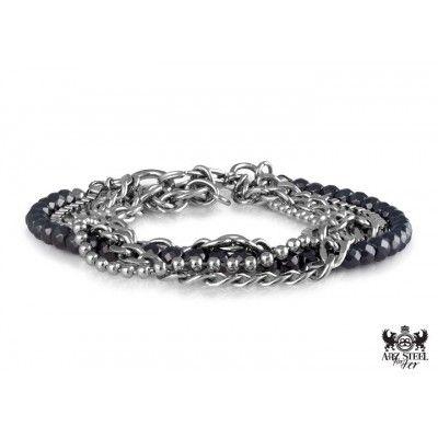 A.R.Z Steel for her bracelet - www. thesteelshop.com