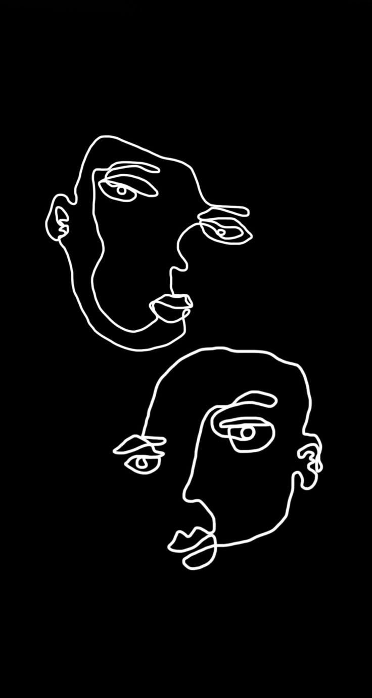 iPhone wallpaper drawn and edited by Emma Regolini