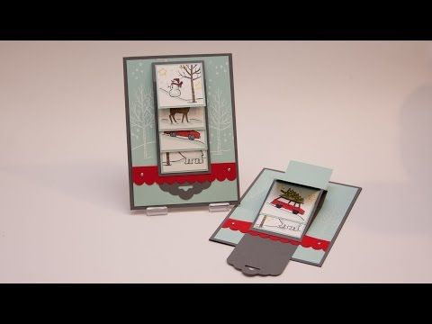 DIY - Wasserfall-Karte White Christmas - Stampin Up!, My Crafts and DIY Projects