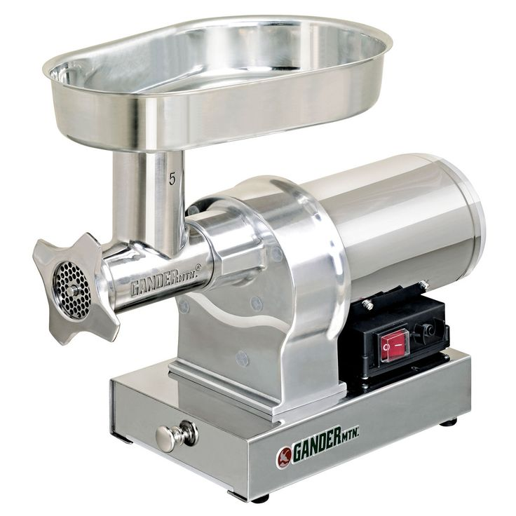 Gander mountain 5 stainless steel electric meat grinder