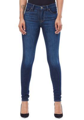 Hudson Jeans Women's Nico Midrise Super Skinny Jeans - Trance - 28 Average