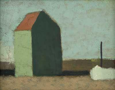 Beach Hut (date unknown) by Alfred Stockham