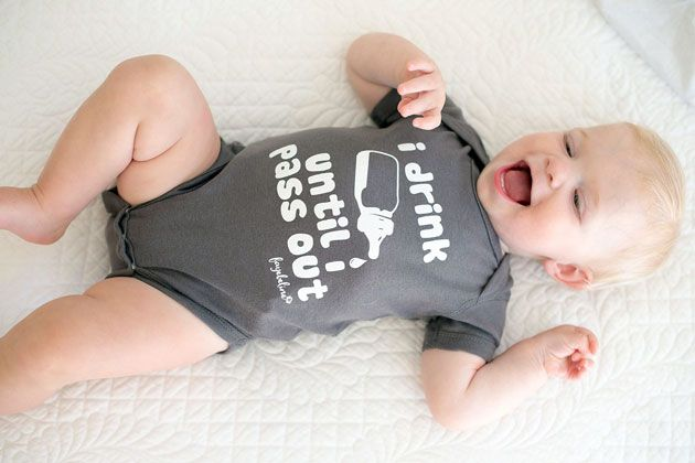 I Drink Until I Pass Out Onesie. How cute is this for your little drinker? Click to read more