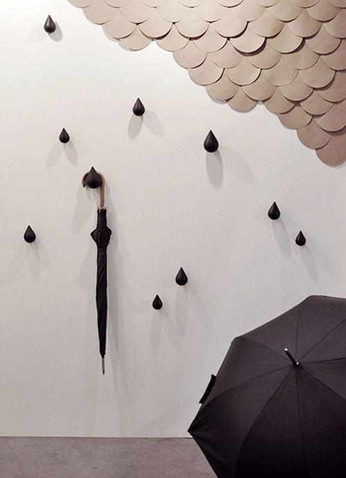 "perchero Dropit Hooks"" de Normann-Copenhagen"