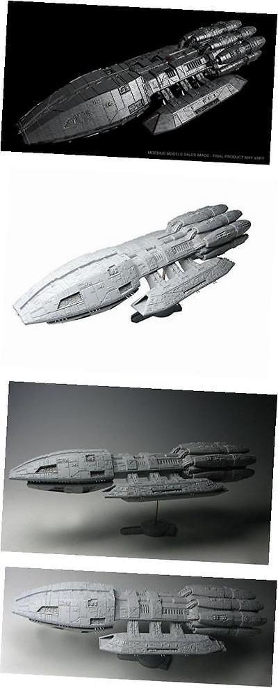 Other Sci-Fi Models and Kits 1193: Battlestar Galactica Pegasus Plastic Model Kit -> BUY IT NOW ONLY: $68.5 on eBay!
