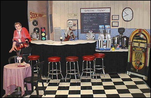 50s Diner Style Furnishings Vintage Faves Retro Home