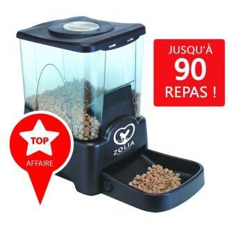 Distributeur automatique de croquettes ZOLIA chien/chat ZD-90_0