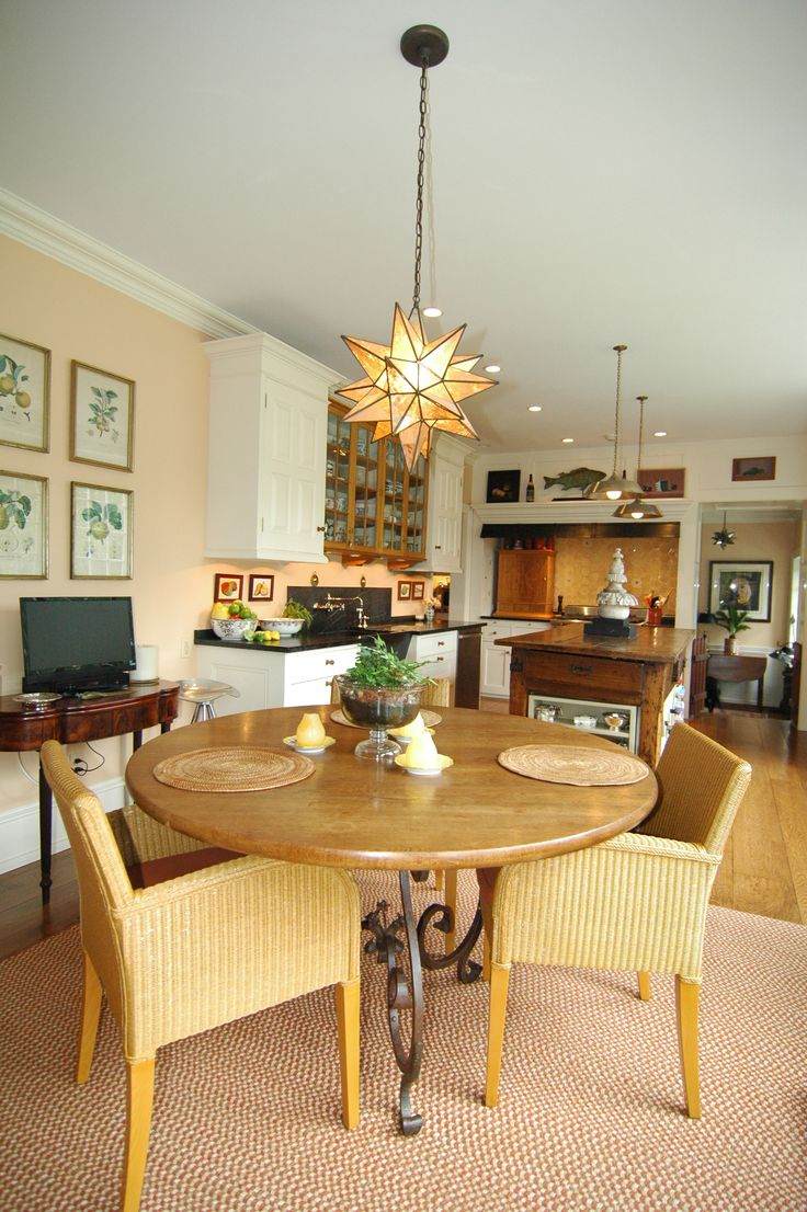 30 best dining rooms images on pinterest dining area for Galley kitchen open to dining room
