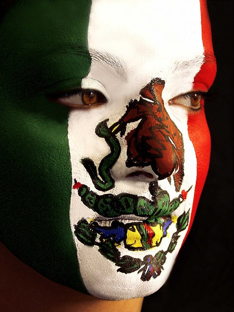 Mexican Flag by marithinks