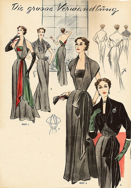 own Vintage dress pattern