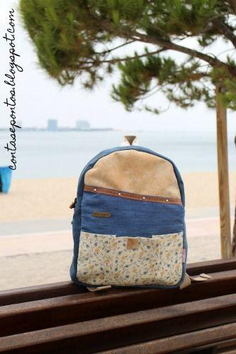 refashion - mochila ganga