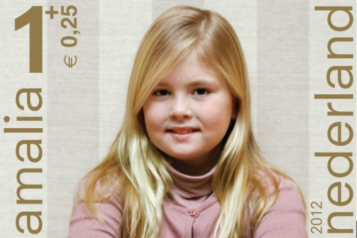 Prince Willem-Alexander has taken photos  of his daughters  Princess Amalia,Princess Alexia and  Princess Ariane to be used for the Children's Stamps 2012. The Children stamps will officially be released on 7 November 2012.