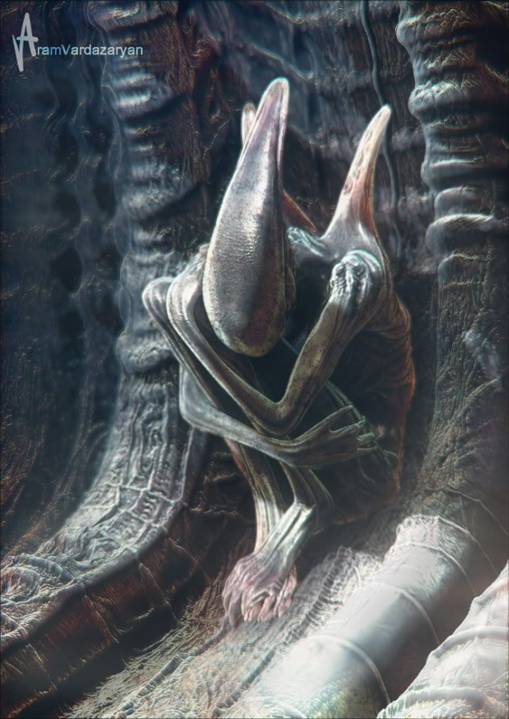 Prometheus concept art prometheus aliens pinterest for Prometheus xenomorph mural