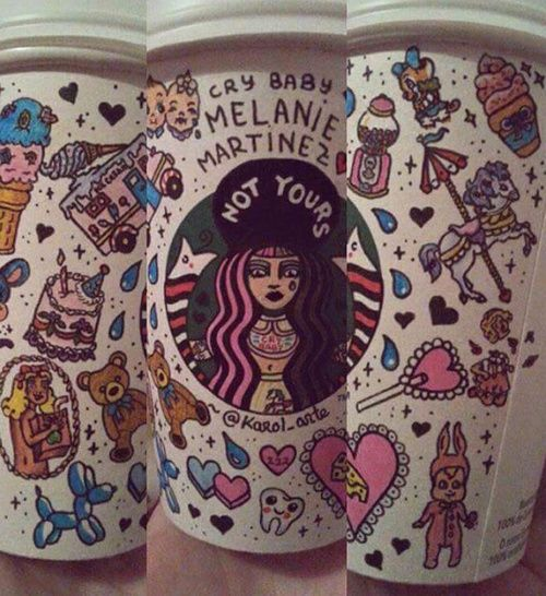 Melanie Martinez!! Starbucks, I would totally buy this if they sold it❤️️❤️