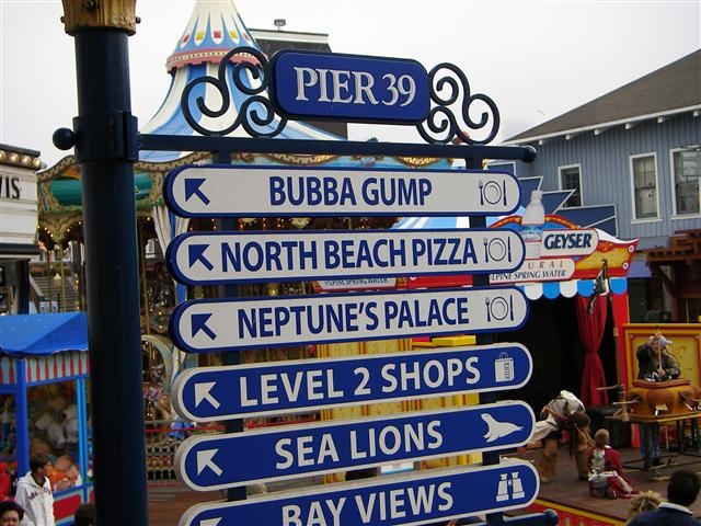 Pier 39, San Fransisco, I wanna go but this isn't even the best part of The City