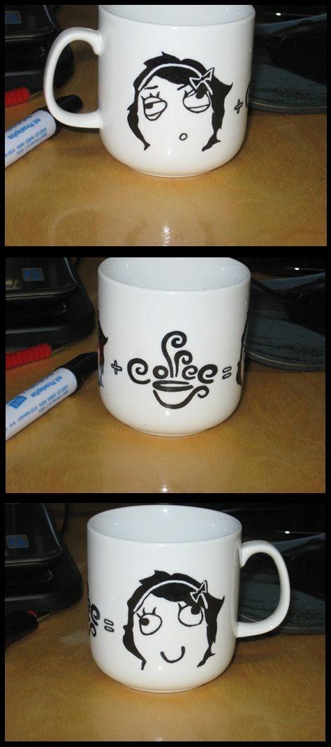 Derpina kávés csésze