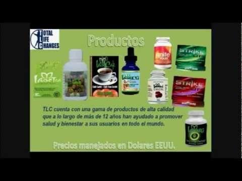 Total Life Changes Espanol Perder Peso Adelgazar Rapido Bajar Colesterol Limpiar el Colon -Gotas Hcg - YouTube