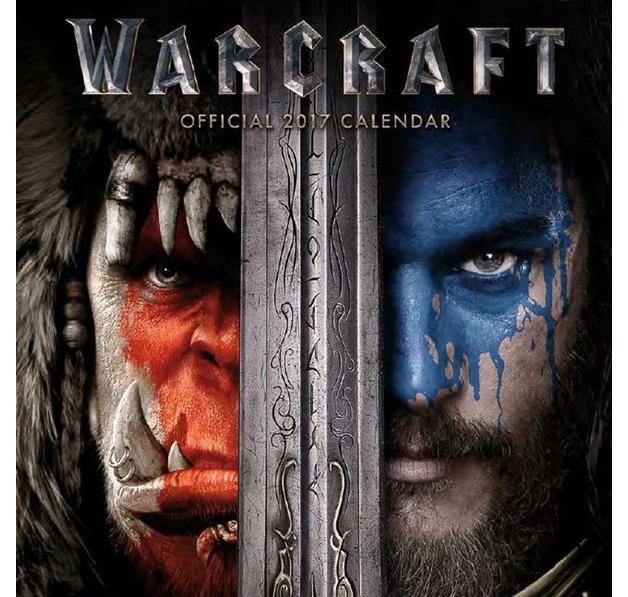 Warcraft Kalender 2017 zum Film. Hier bei www.closeup.de