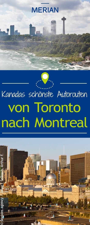 Mit diesen Autotouren durch Kanada wird jeder glücklich. Teil 2 unserer Serie führt von Toronto nach Montreal. Ideal für Kulturfans!