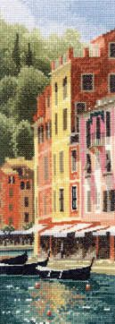 Portofino - John Clayton International Cross Stitch