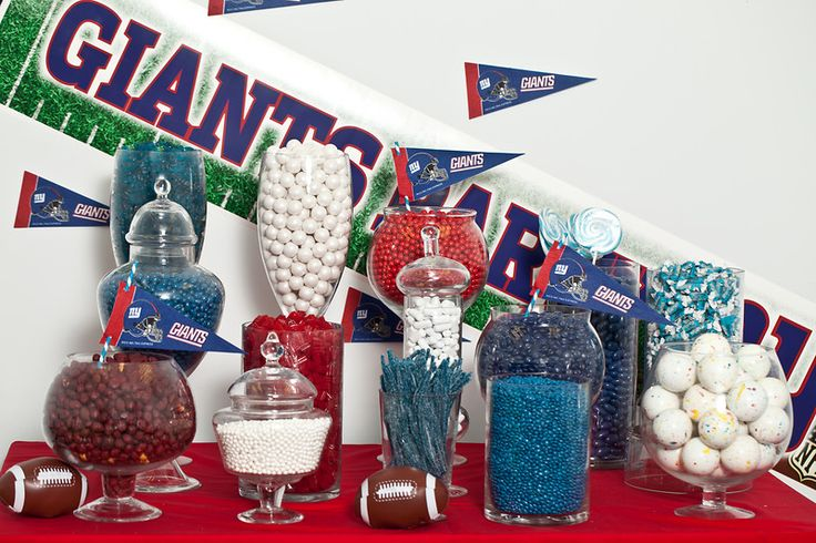 Sports Candy Buffet starring Nuts.com candy.#nutsdotcom #wedding